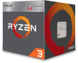 Ryzen 3 2200G 3.5GHz 65W 4C/4T AM4 APU with Radeon Vega 8 Graphics
