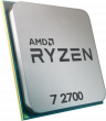 AMD Ryzen 7 2700 3.2GHz 65W 8 Cores 16 Threads 16MB Cache AM4 CPU