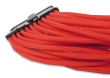 Red Braided 24-pin ATX Extension