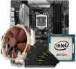 Quiet PC Intel 10th Gen CPU and micro-ATX Motherboard Bundle