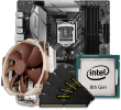 Quiet PC Intel 8/9th Gen CPU and micro-ATX Motherboard Bundle